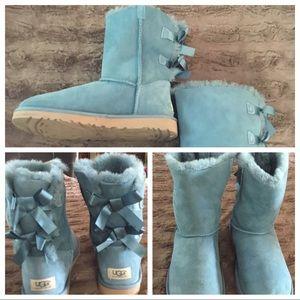 Ugg Bailey Bow Boots Sz 7